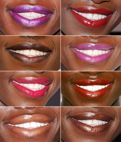 What goes with National Lipstick Day? White Teeth of Course!